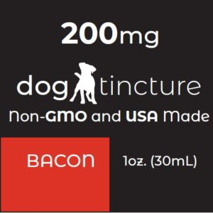 Dog Tincture - Bacon flavor
